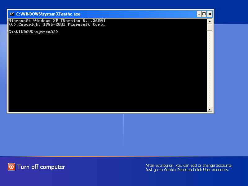 Bypass Windows Logon with Emergency Boot Kit - CMD.EXE with System Privileges on Logon Screen