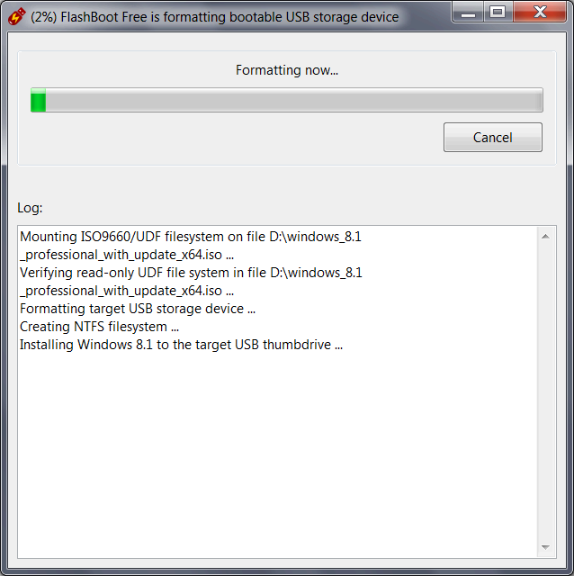 how to install windows 7 from bootable usb flash drive