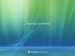 Windows Vista Hangs at Preparing Your Desktop