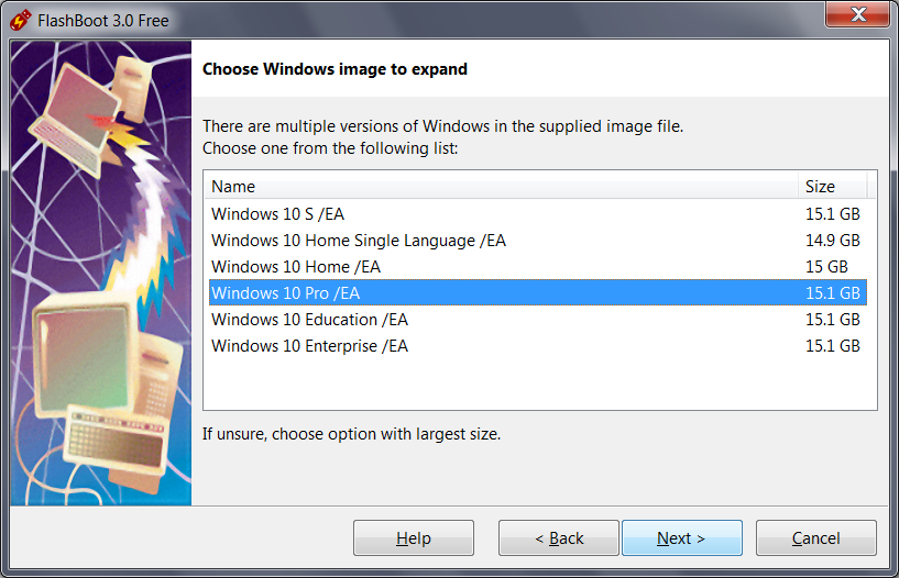 FlashBoot: Install full-featured Windows 8/8 1/10 to USB thumbdrive